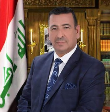 عميد كلية الآثار الدكتور عابد براك الأنصاري